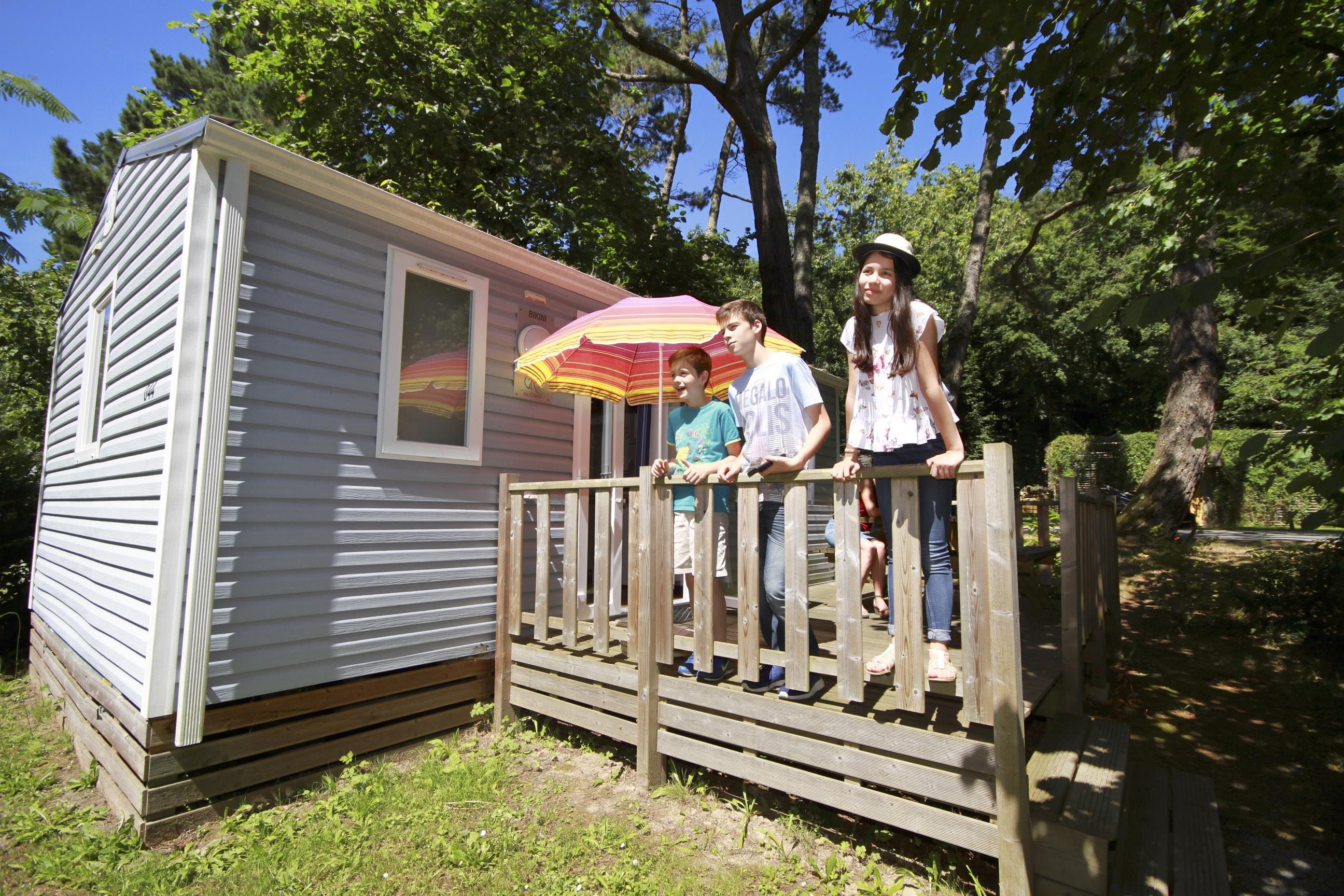 Location - Cottage Berlingot 1 Chambre 22 M² - Nantes Camping