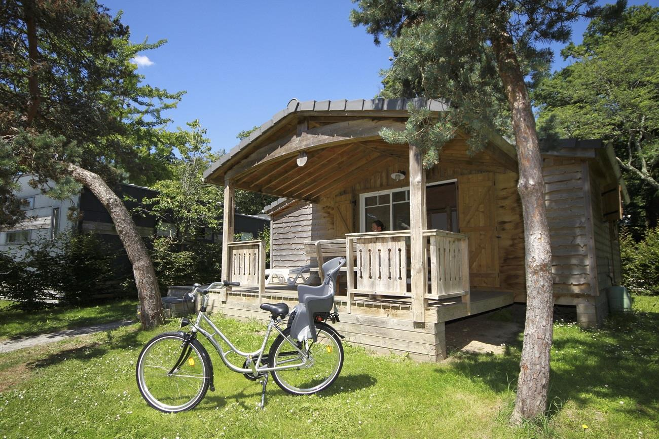 Location - Chalet Le Royal 3 Chambres - 46M² + Terrasse 12M² - Nantes Camping