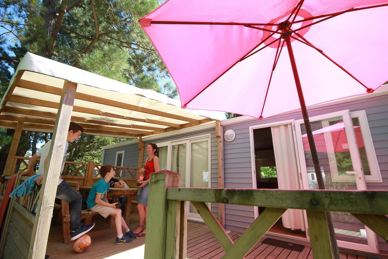 Location - Cottage Le Géant 3 Chambres + 2 Salles De Bains 40M² - Nantes Camping
