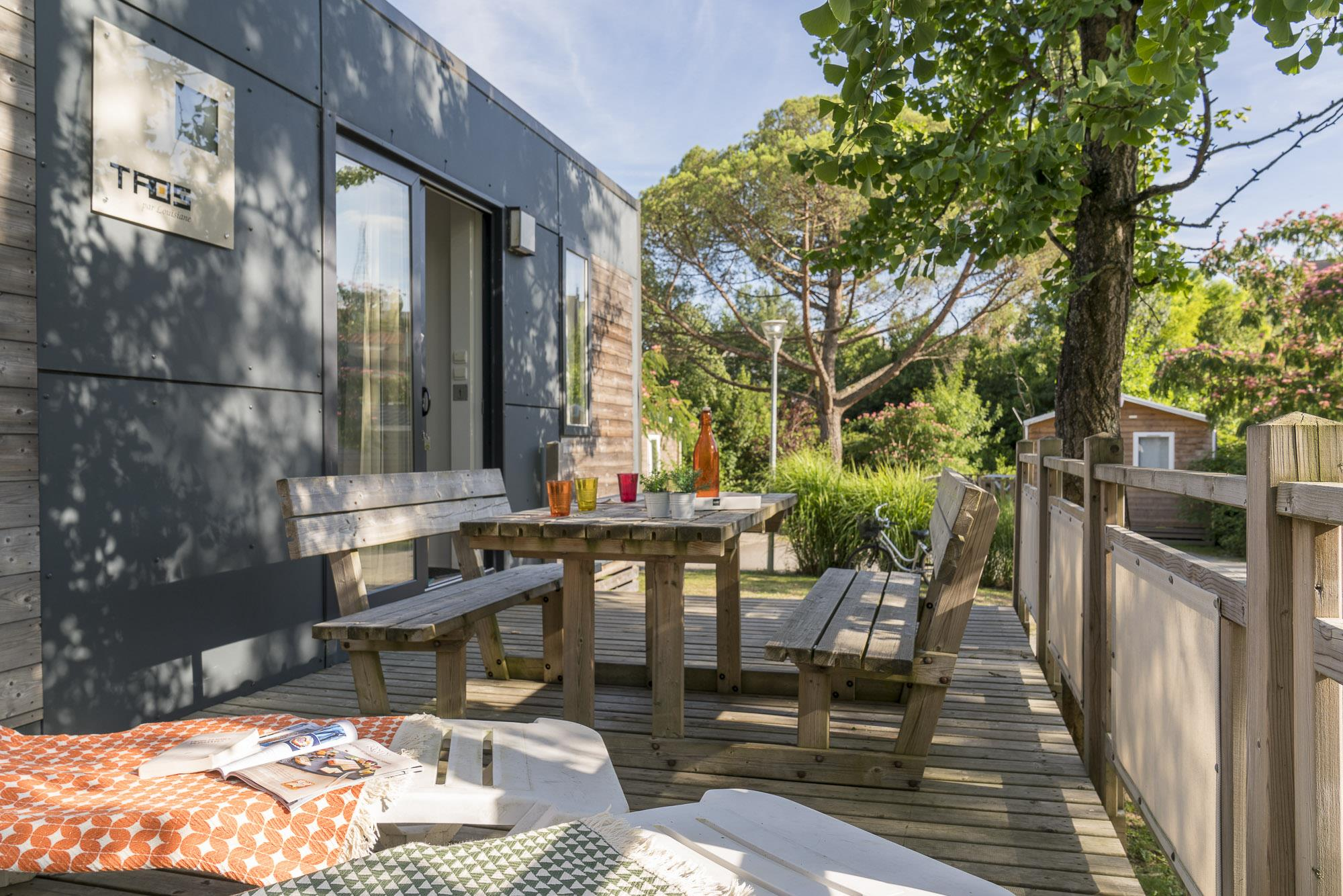 Location - Cottage Carrousel 3 Chambres + 2 Salles De Bain 40M2 - Nantes Camping