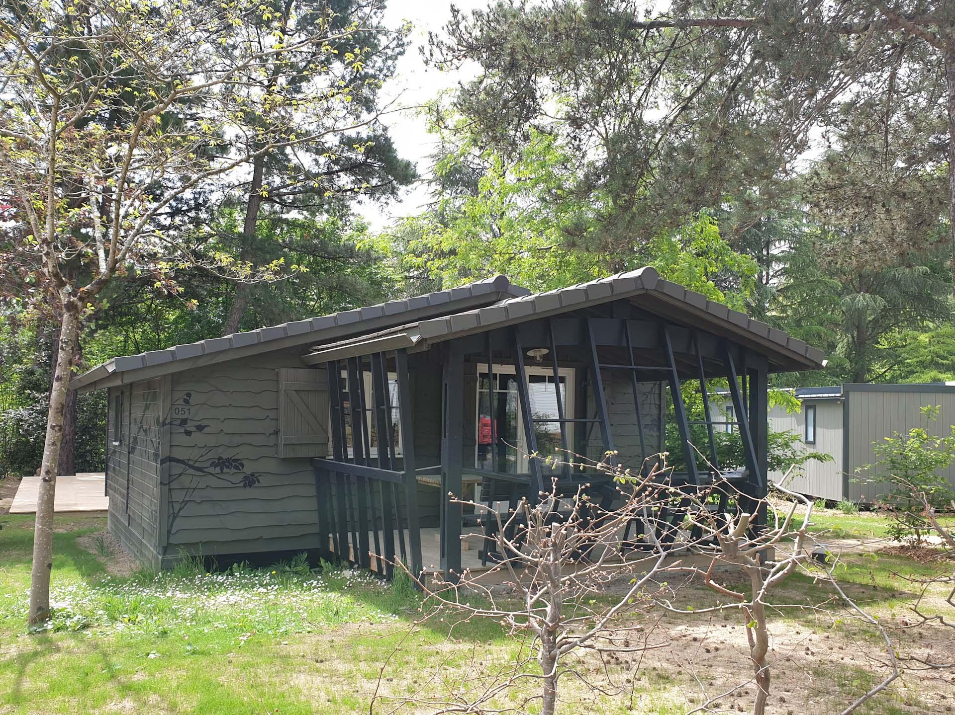 Location - Chalet Le Titan 2 Chambres - 35M² - Nantes Camping