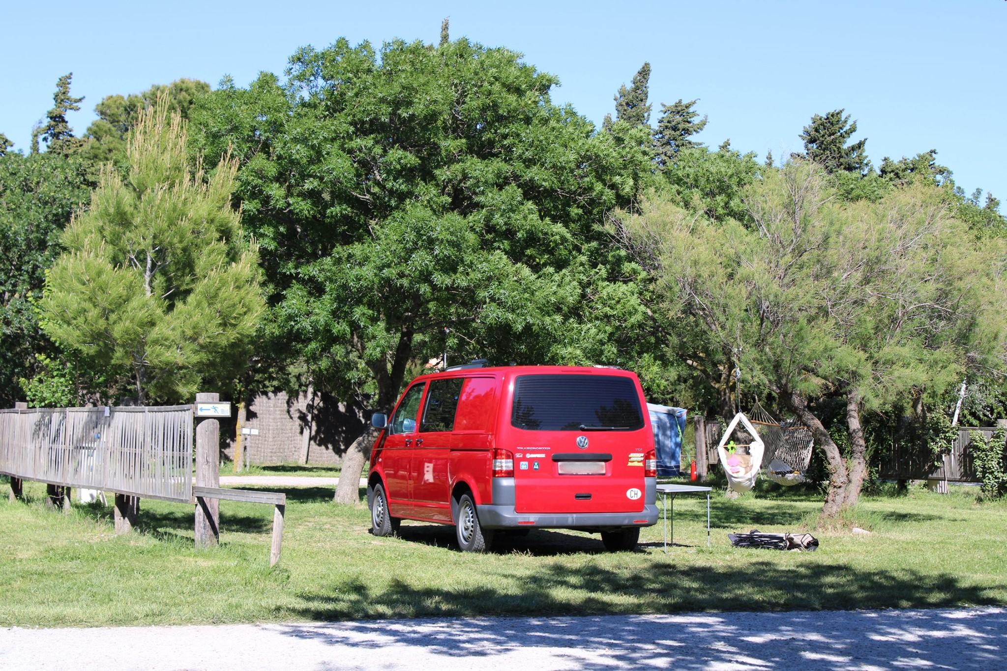 Forfait Confort (1 tente, caravane / 1 voiture / électricité 6A)