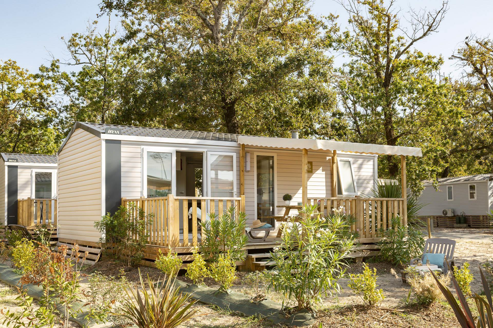 Location - Cottage Alizé 2 Chambres *** - Camping Sandaya Soulac Plage