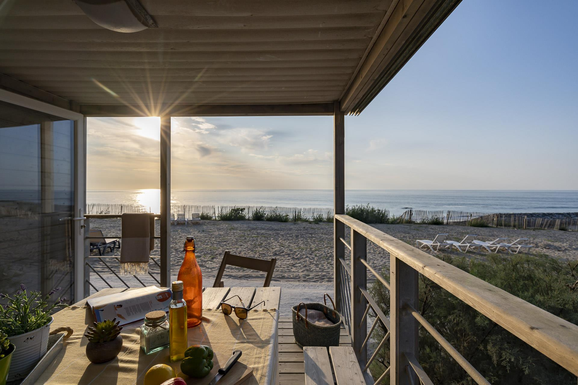 Location - Cottage Vue Ocean 3 Chambres *** - Camping Sandaya Soulac Plage