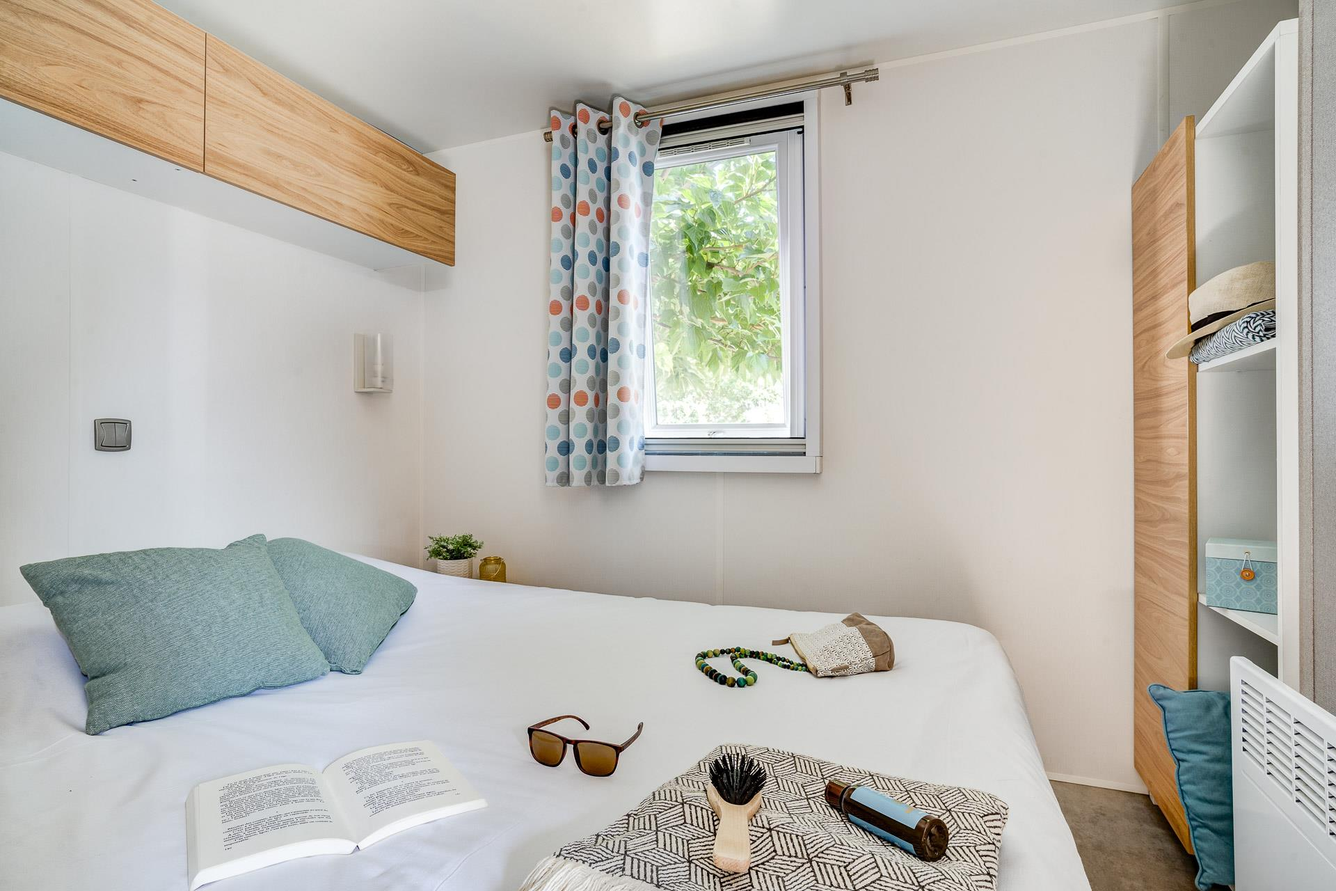 Location - Cottage Surf 2 Chambres Climatisé Premium - Camping Sandaya Soulac Plage