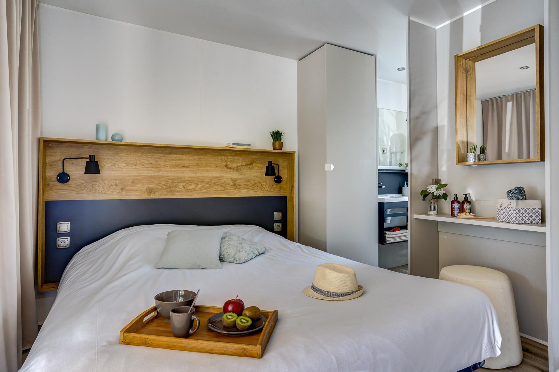 Location - Cottage Atlantide 2 Chambres Climatisé Premium - Camping Sandaya Soulac Plage