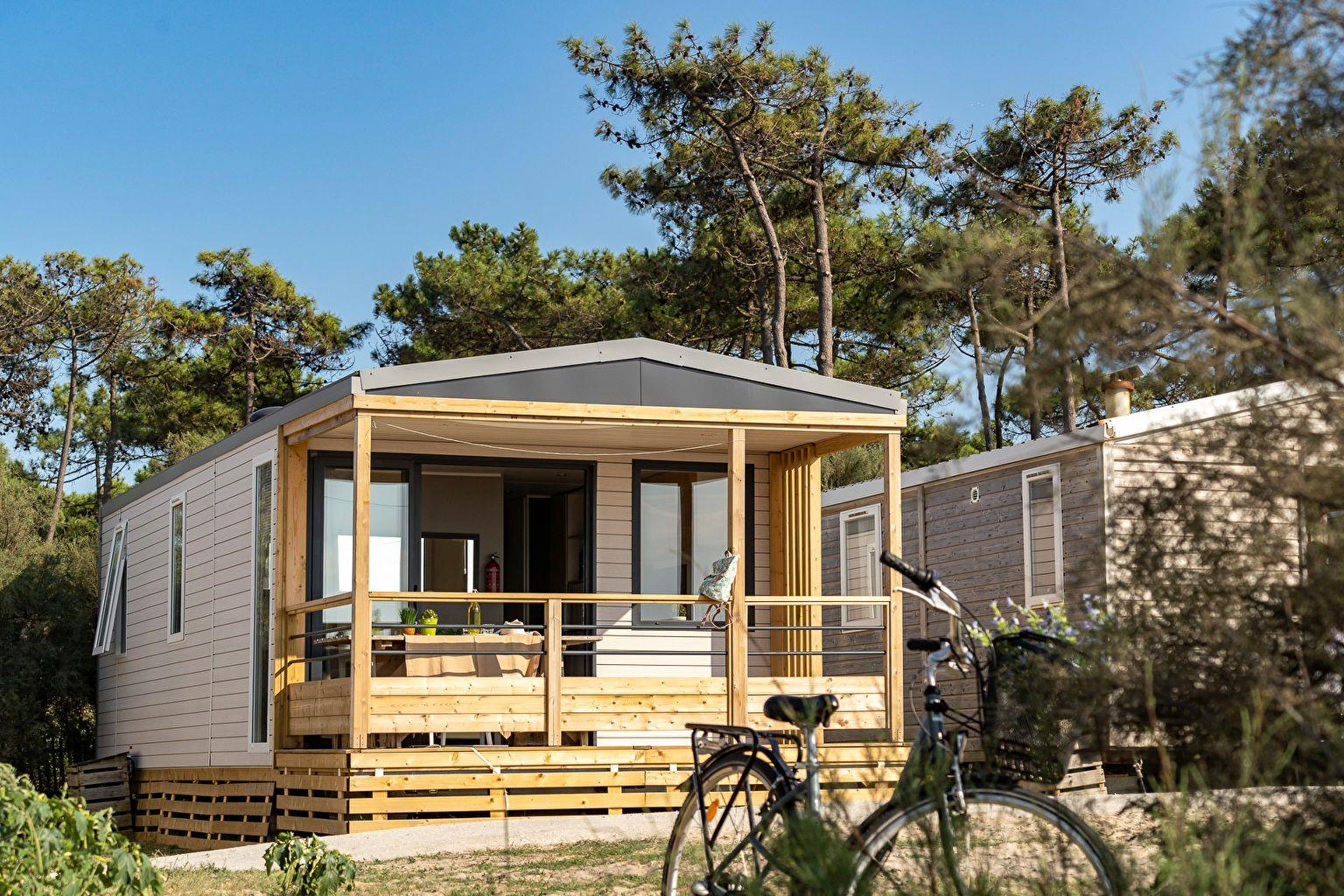 Location - Cottage Vue Ocean 2 Chambres **** - Camping Sandaya Soulac Plage