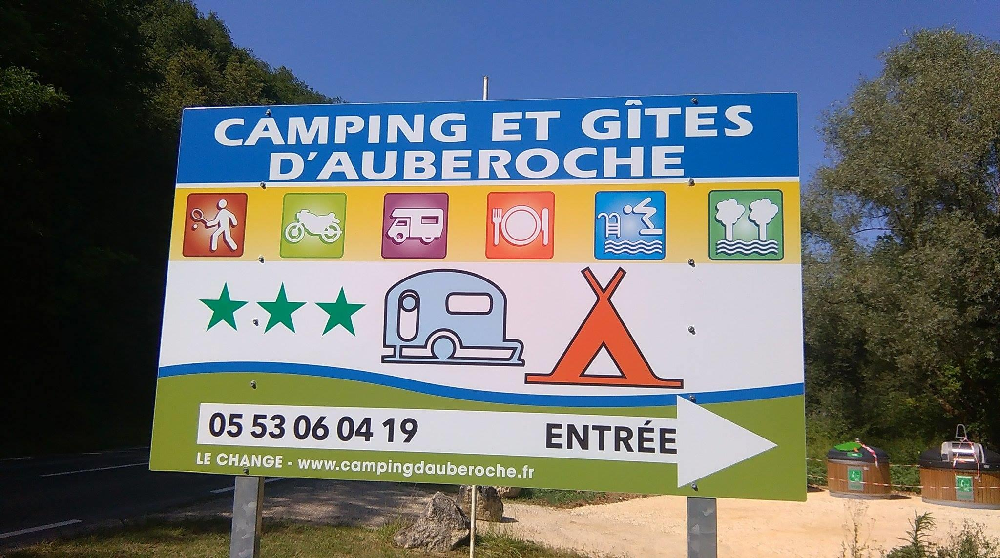 Camping d'Auberoche, Le Change, Dordogne