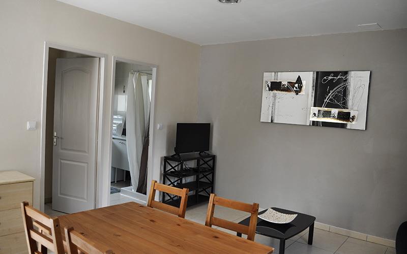 Maison T2 - 1 Chambre Lit 2 Personnes + Canapé Lit 2 Enfants Dans Le Salon