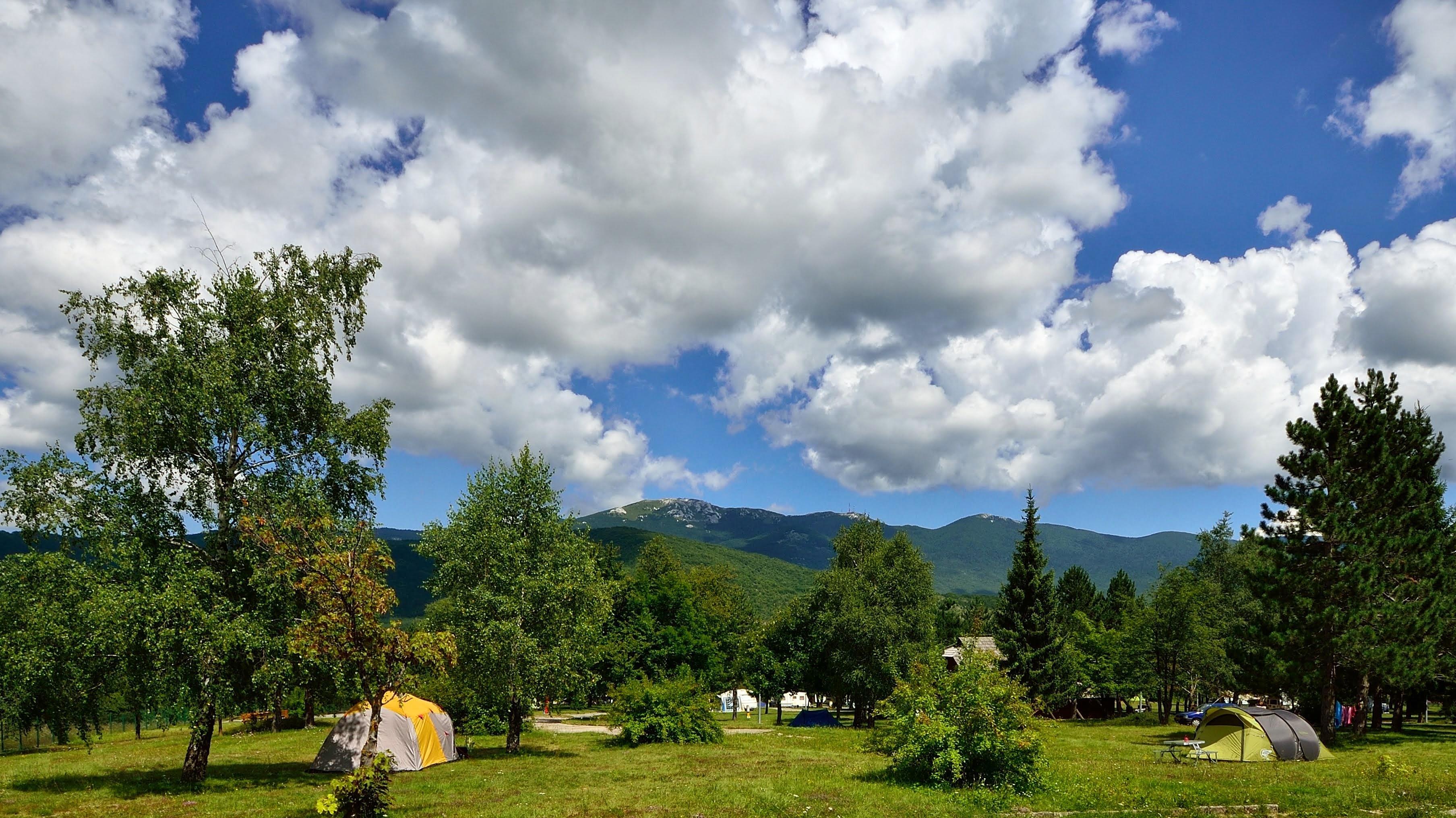 Emplacement - Emplacement De Base - Camping Borje