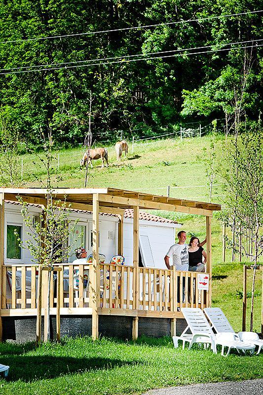 Location - Mobilhome Happy, Deposit 100€ Cash To Be Paid On Site - Camping Bella Austria