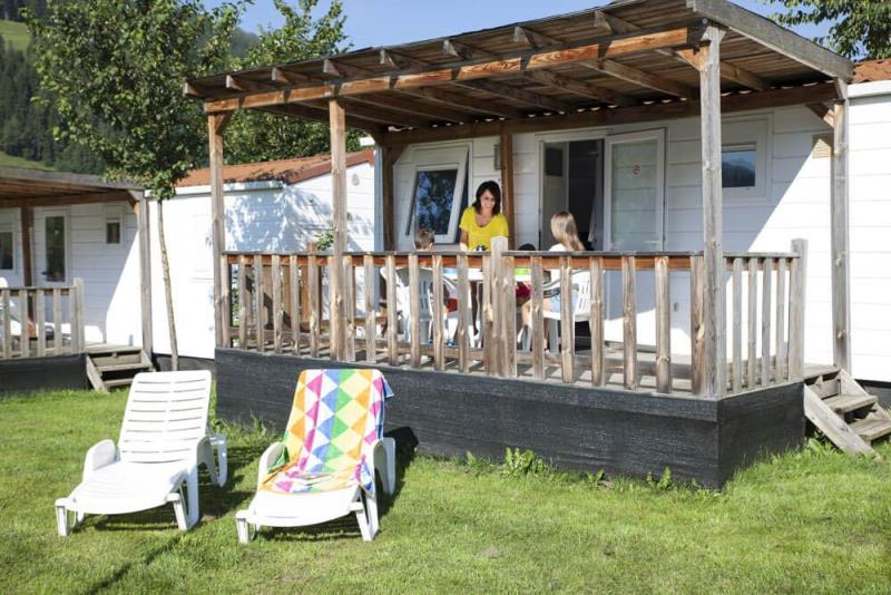 Location - Mobilhome, Deposit 100€ Cash To Be Paid On Site - Camping Bella Austria
