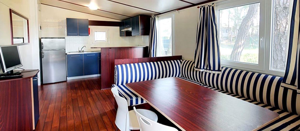 Location - Mobil Home Acquamarina - Camping Pino Mare