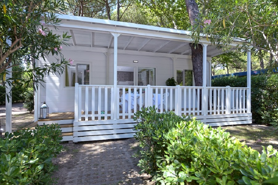 Location - Mobile Home Green - Camping Pino Mare