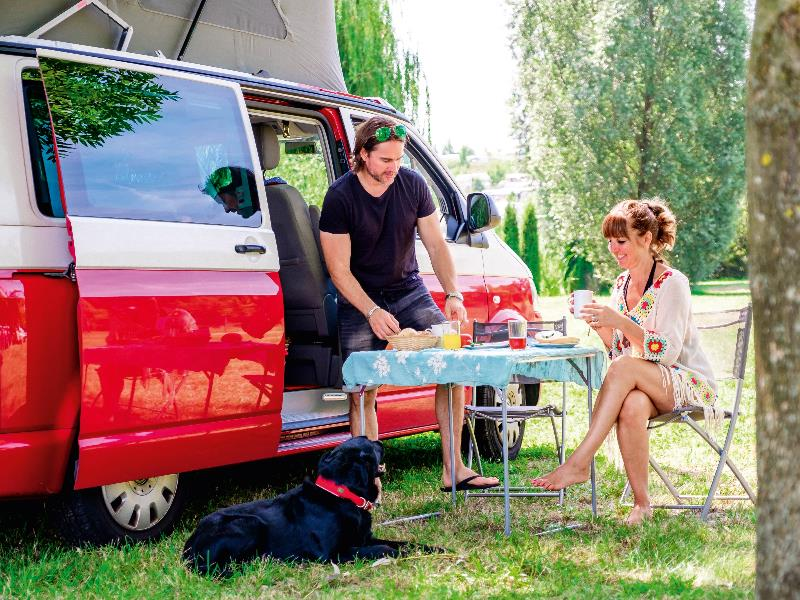 Emplacement - Emplacement Nature Camp - Vital Camping Bayerbach