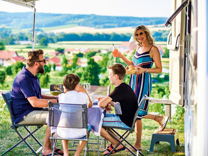 Emplacement - Emplacement Vital Confort - Vital Camping Bayerbach
