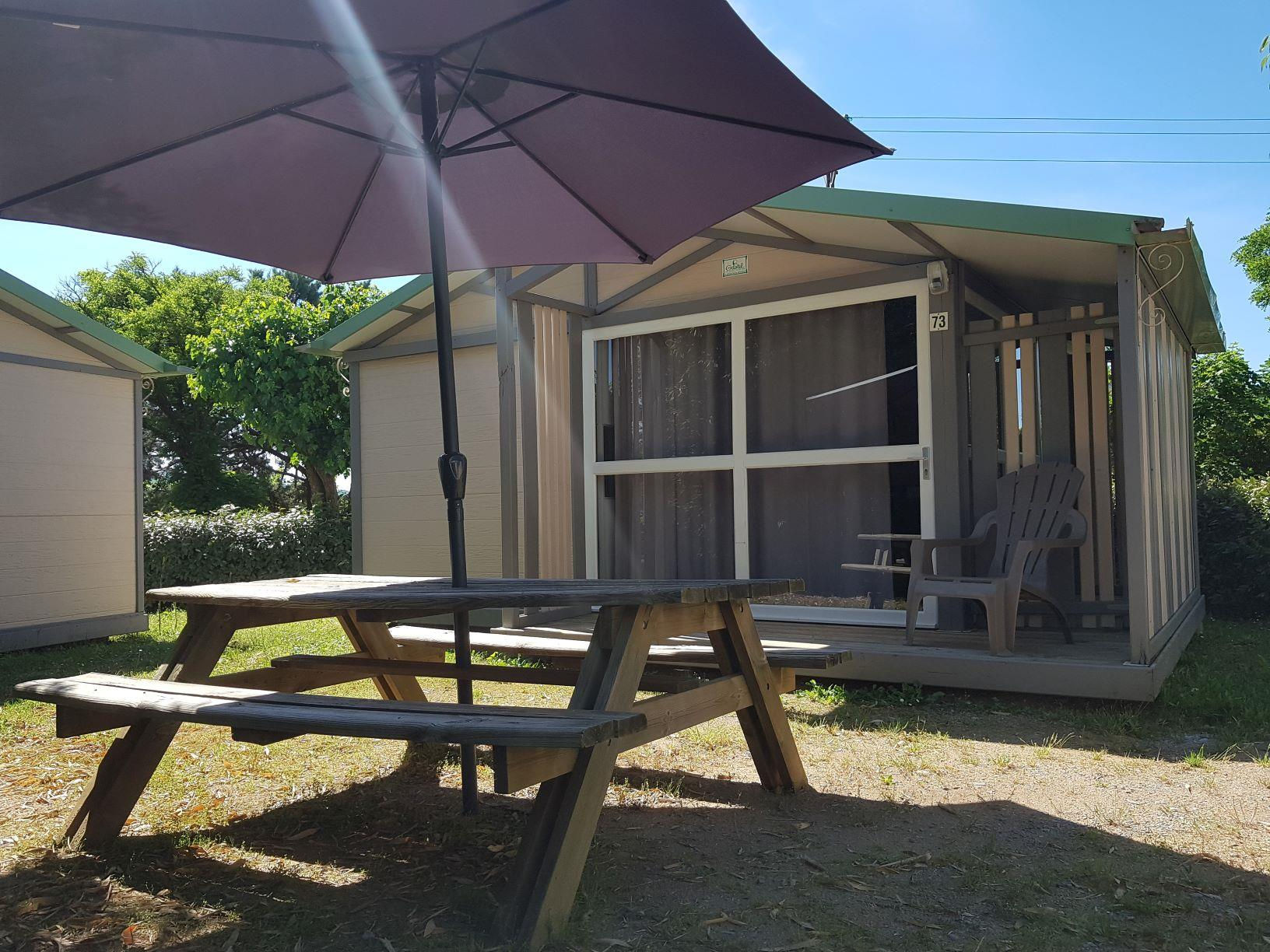 Accommodation - Chalet Titom - Camping Le Grillou