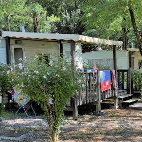 Accommodation - Caravan - Camping Le Grillou