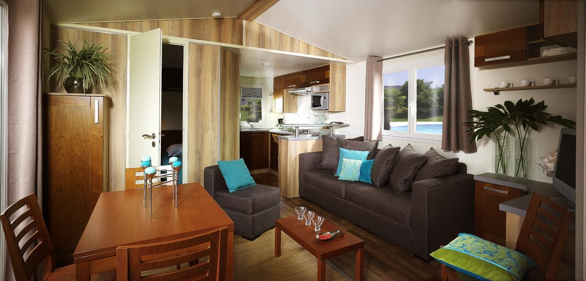 Mobil-home Sumba 2 chambres 32m²