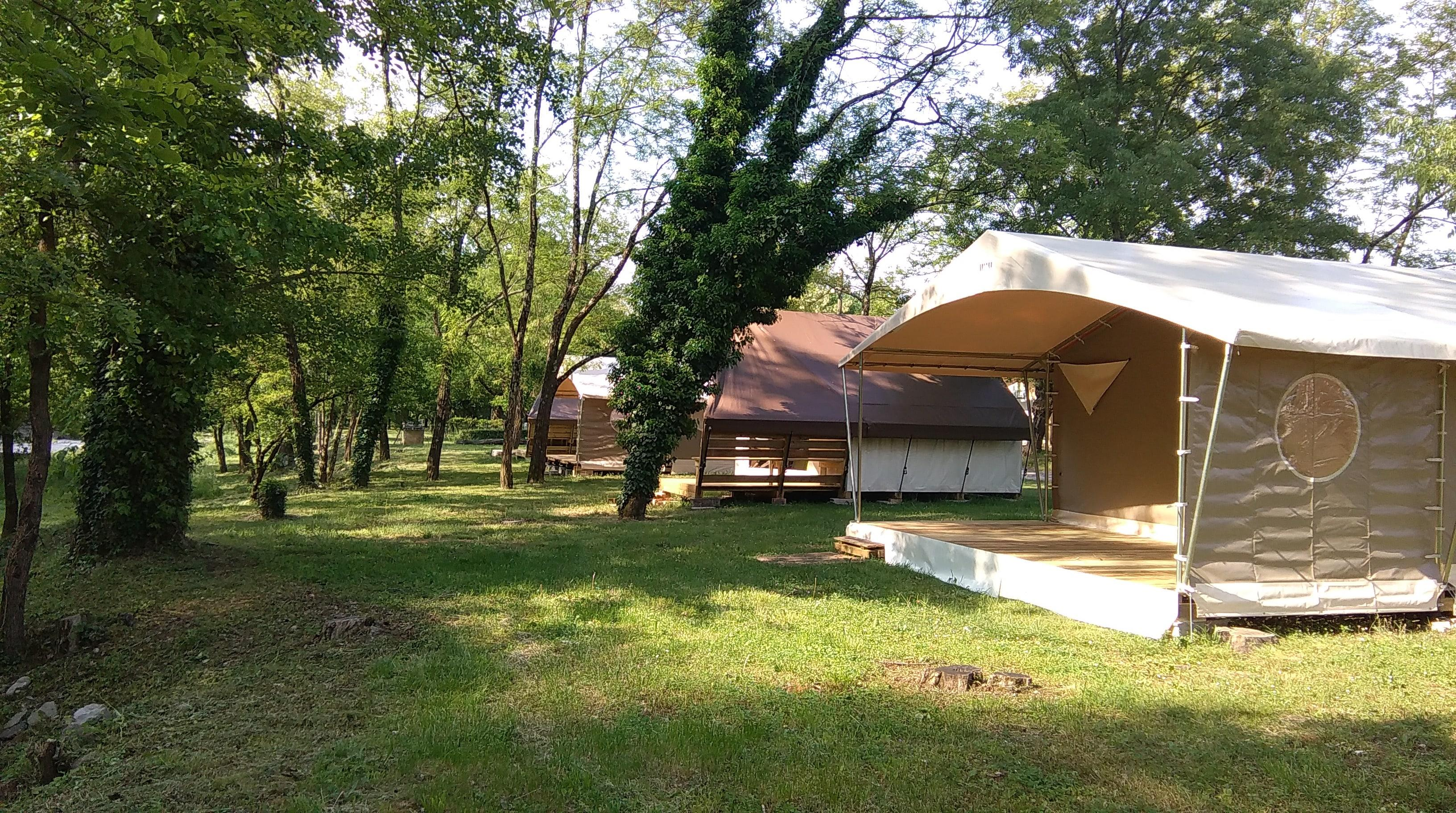 Camping la Turelure, Uzer, Ardèche