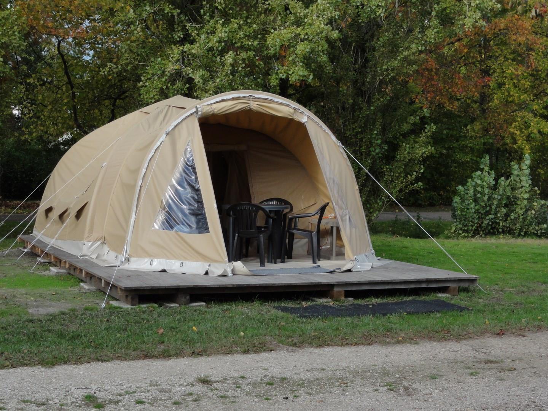 Location - Tente Prête À Camper Stop Au Vert - Camping La Grande Sologne