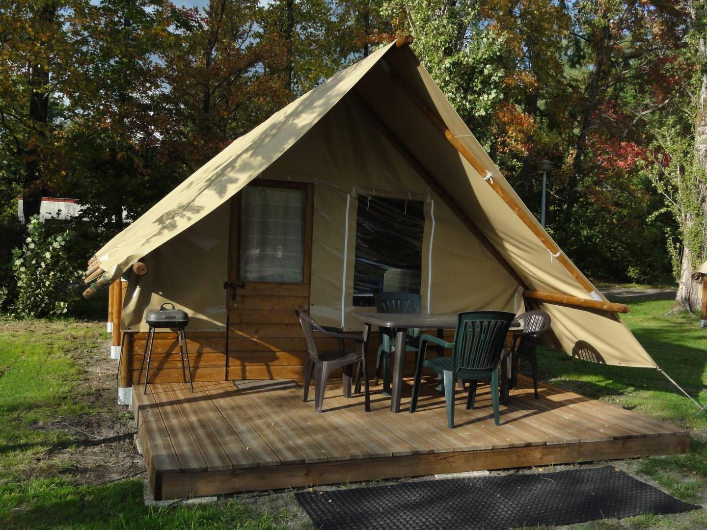 Location - Toile Et Bois Woodytente 4P Max - Camping La Grande Sologne