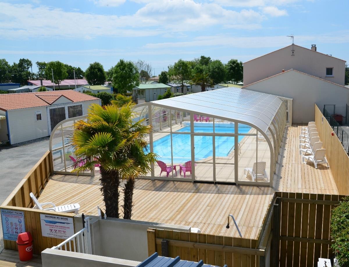 Camping les Logeries, Vairé, Vendée