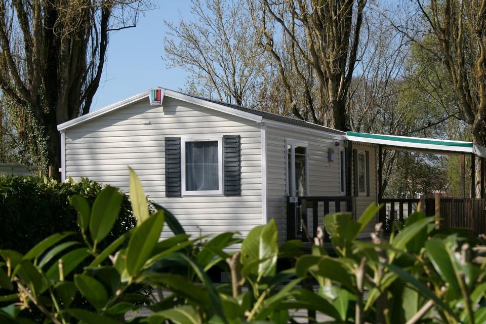 Location - Mobil-Home Andaro 32,50M² - Adapté Pour Personnes À Mobilité Réduite - Camping de la Gères