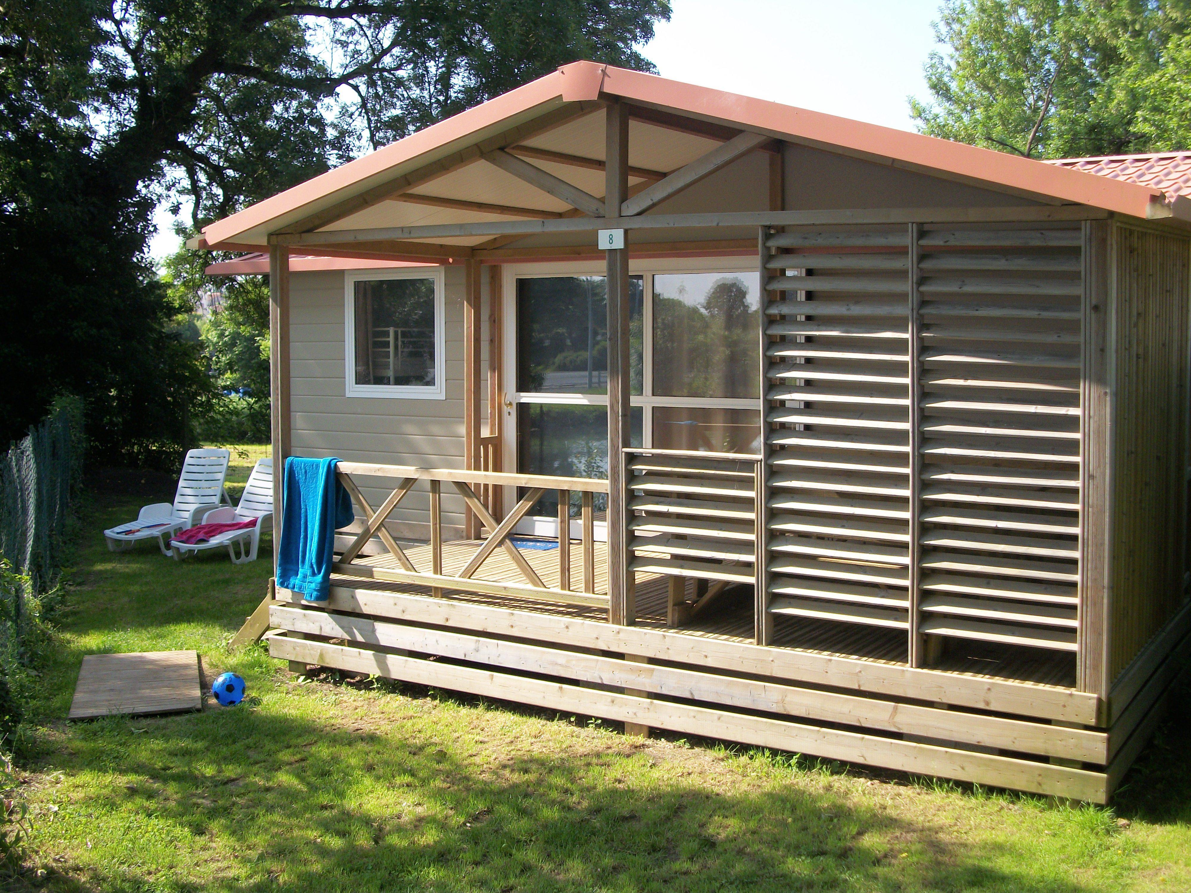 Location - Chalet Samoa 35M² - Camping de la Gères