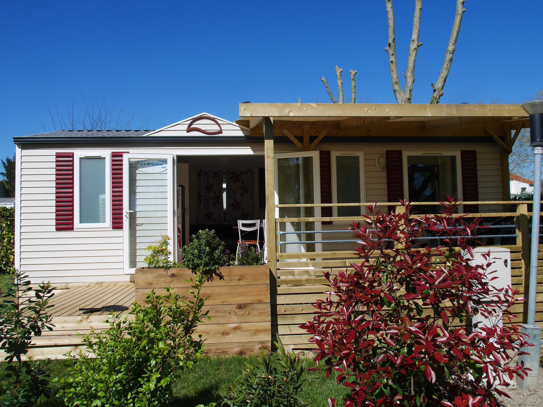 Location - Mobil-Home Fidji 30M² - Camping de la Gères
