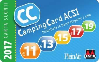 Emplacement - Forfait Acsi Card - Camping de la Gères