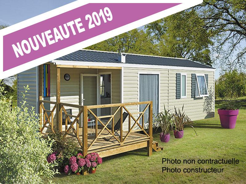 Location - Mobil-Home Mooréa 30 M² - Camping de la Gères