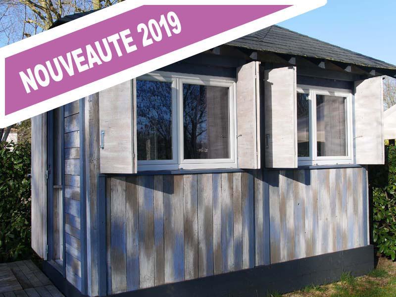 Location - La Cabane - 9 M² - Sans Sanitaire - Camping de la Gères