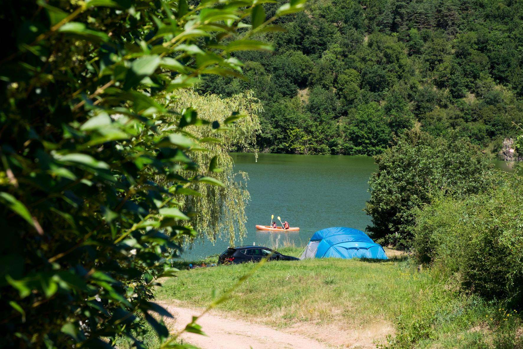 Camping Arpheuilles, Saint-Paul-de-Vezelin, Loire