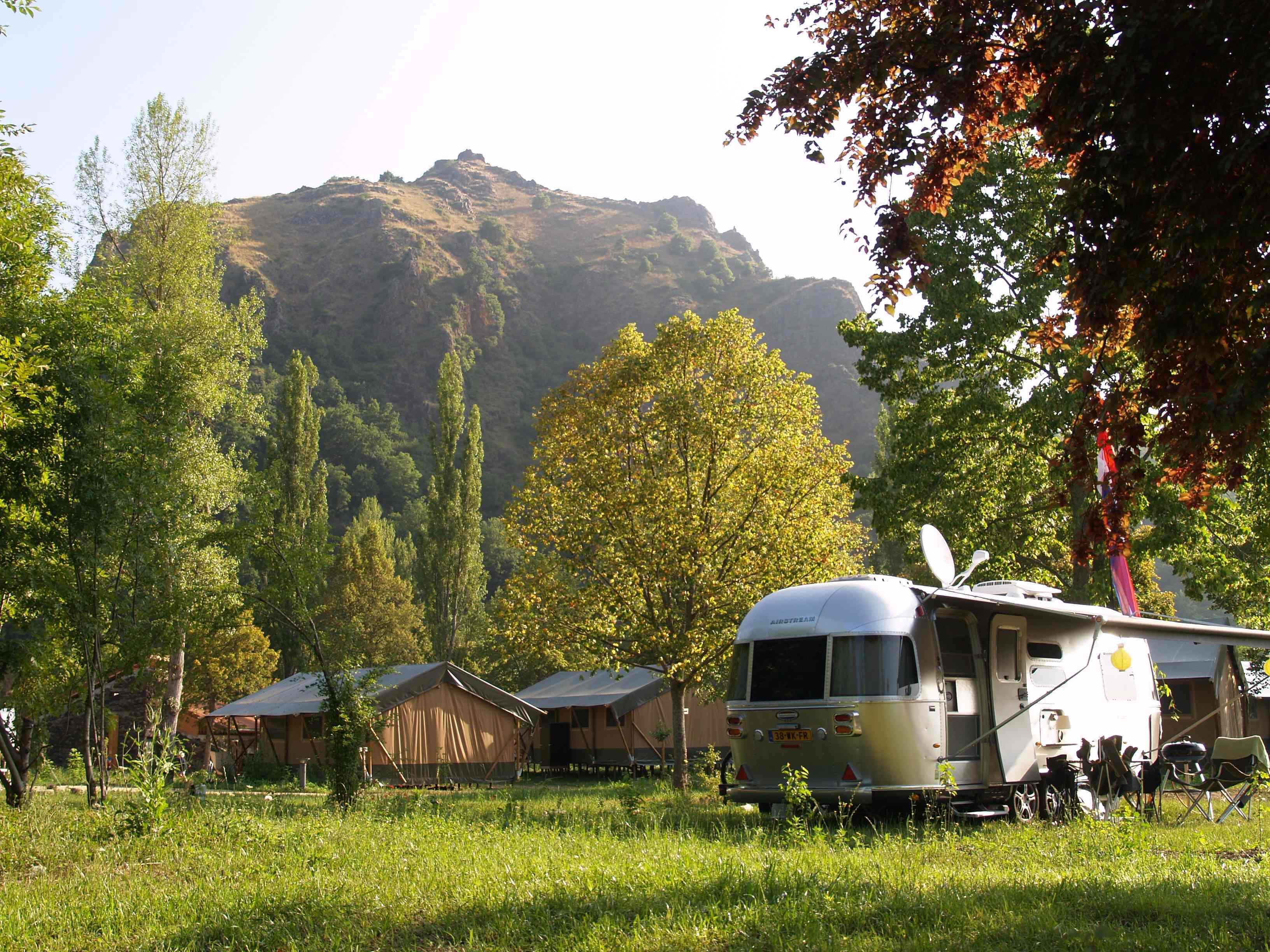 Camping le Cosycamp, Chamalieres-sur-Loire, Haute-Loire