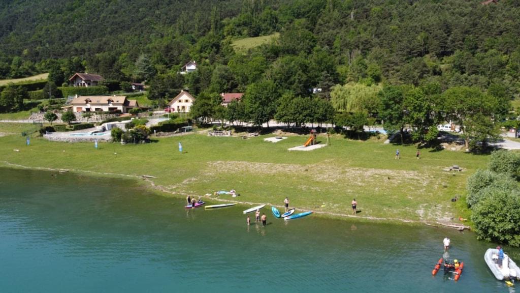 Camping De La Plage - Alpes, Vercors Et Trièves