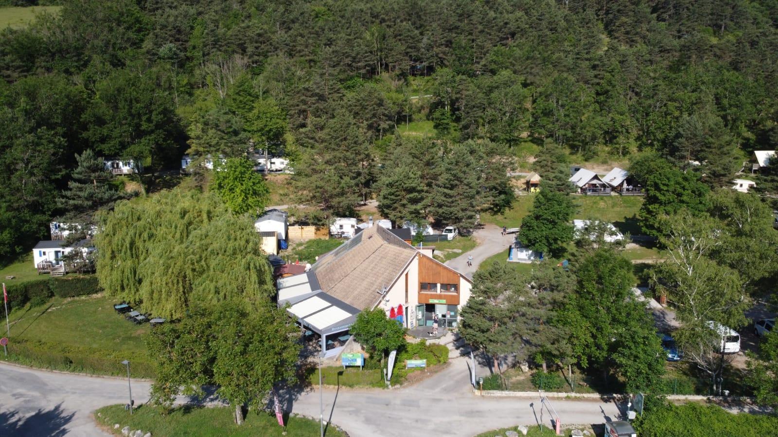 Camping de la Plage, Treffort, Isère