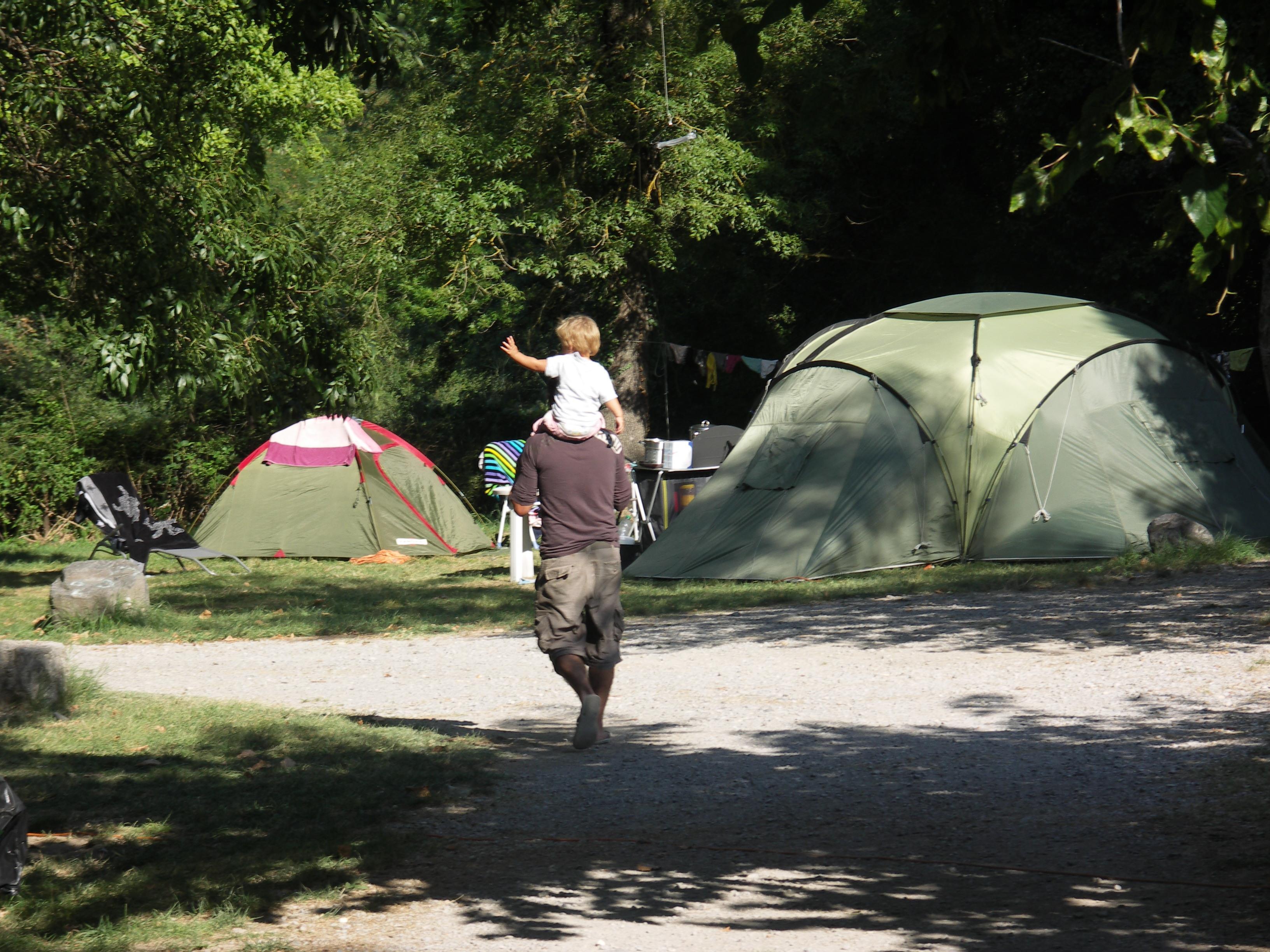 Camping Théatre, Alba-la-Romaine, Ardèche