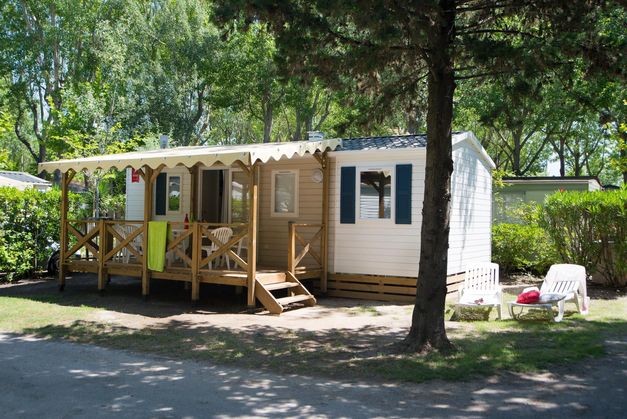 Location - Cottage Famille Plus Premium - Camping Abri de Camargue