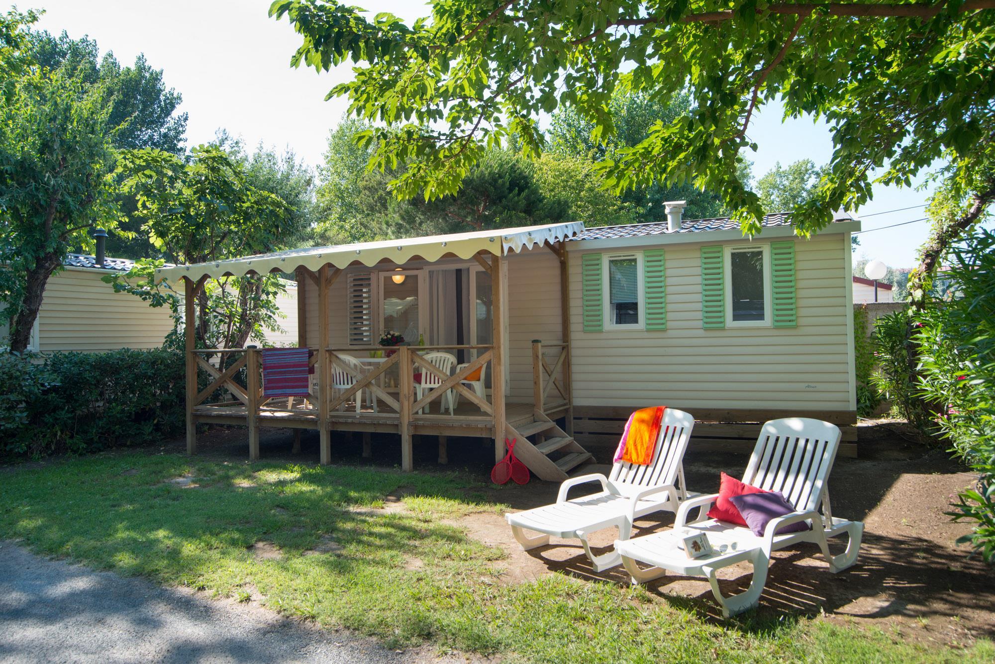 Location - Cottage Grand Méditerranéen - Camping Abri de Camargue