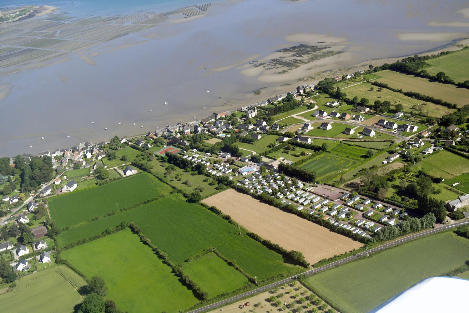 Camping le Rivage, Quettehou, Manche