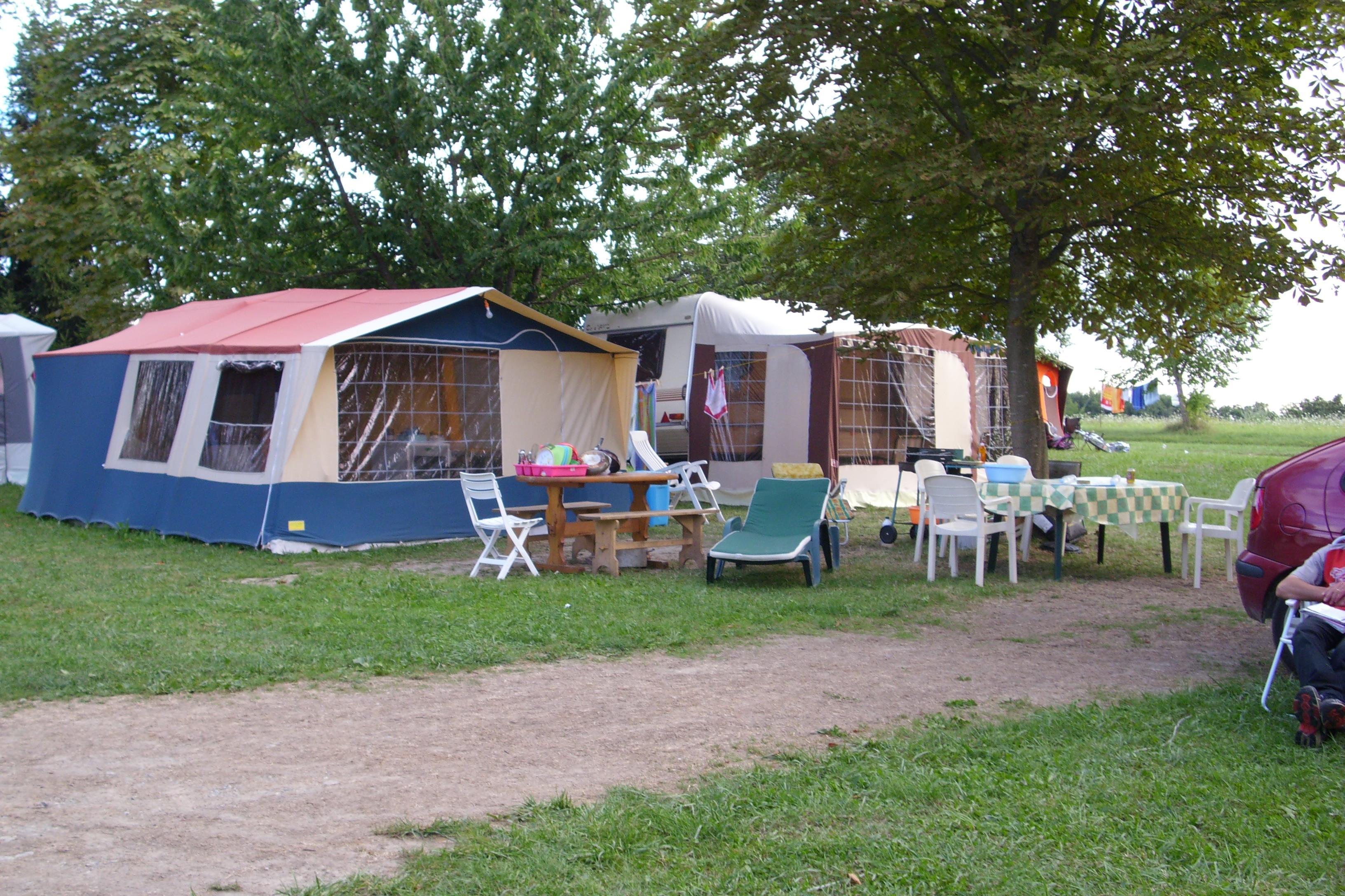 Camping l'Oree des Bois, Sciez, Haute-Savoie