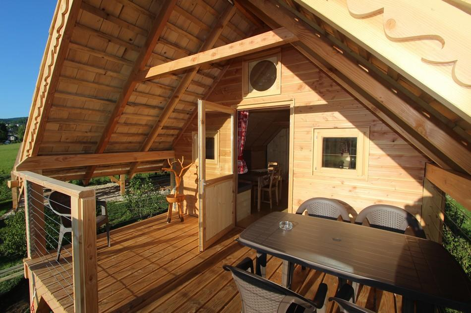 Location - Cabane Les 12 Cols - Camping Les 12 Cols