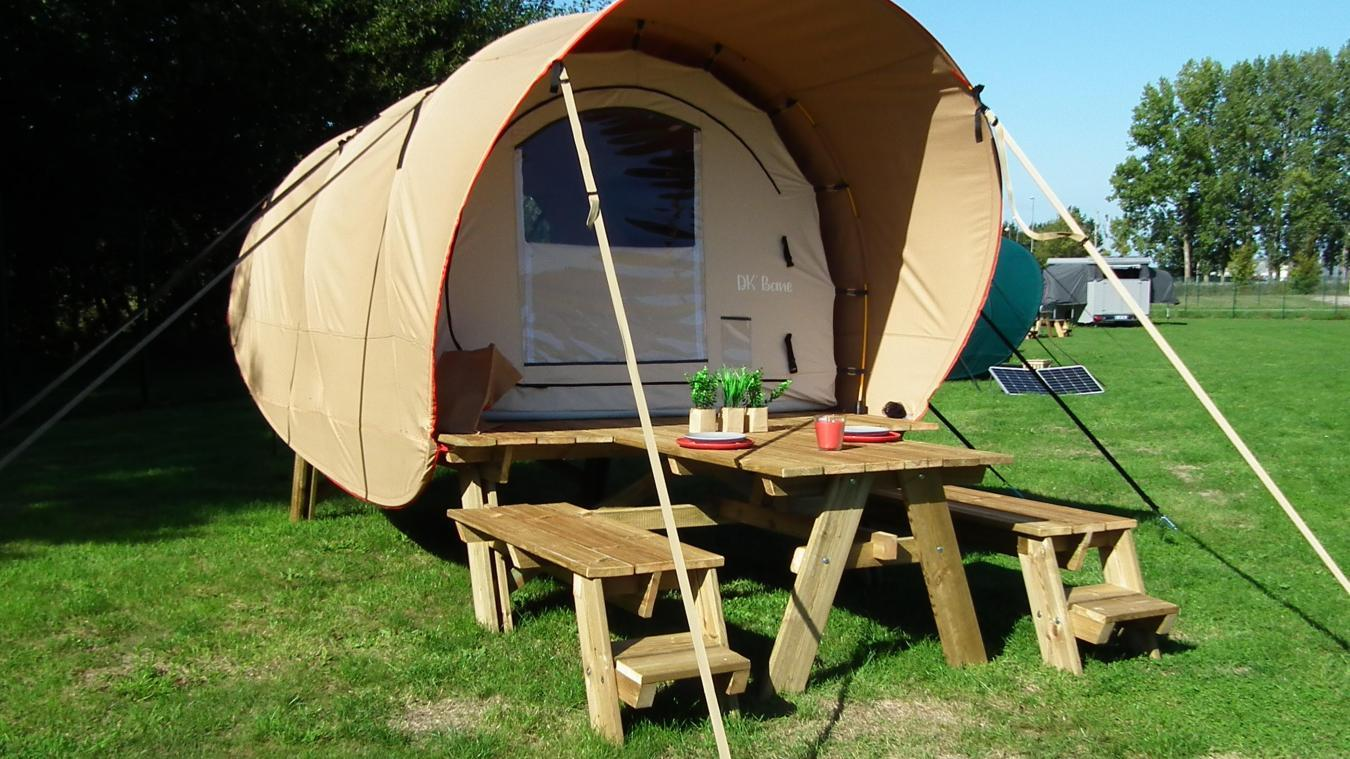 Accommodation - Cocoon Tent - Camping Les 12 Cols