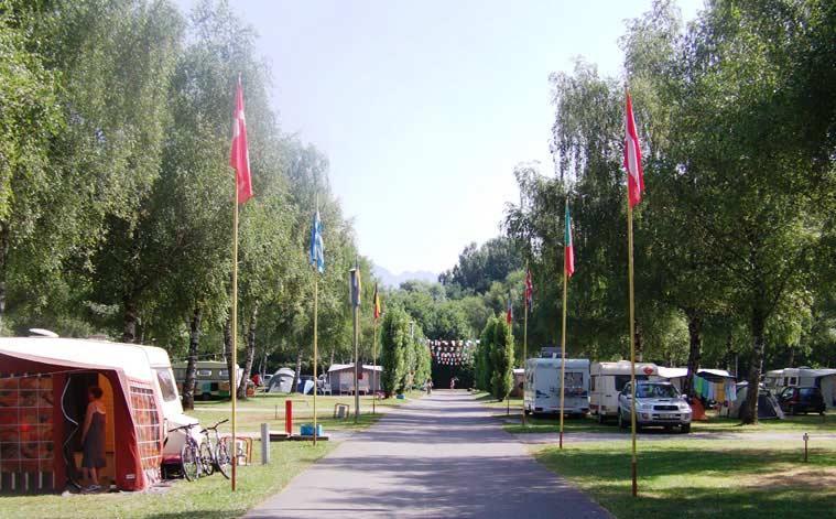 Camping l'Aloua, Sevrier, Haute-Savoie