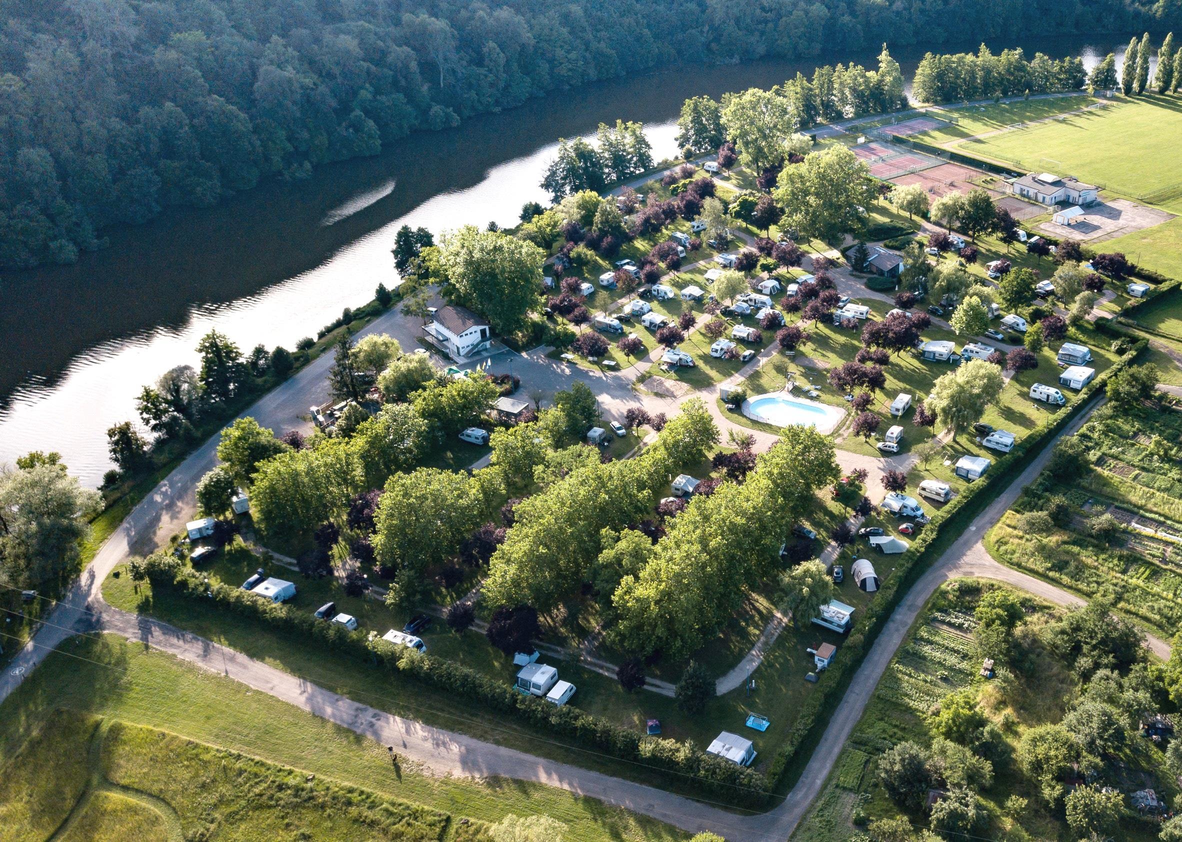 Camping de la Moselle, Liverdun, Meurthe-et-Moselle