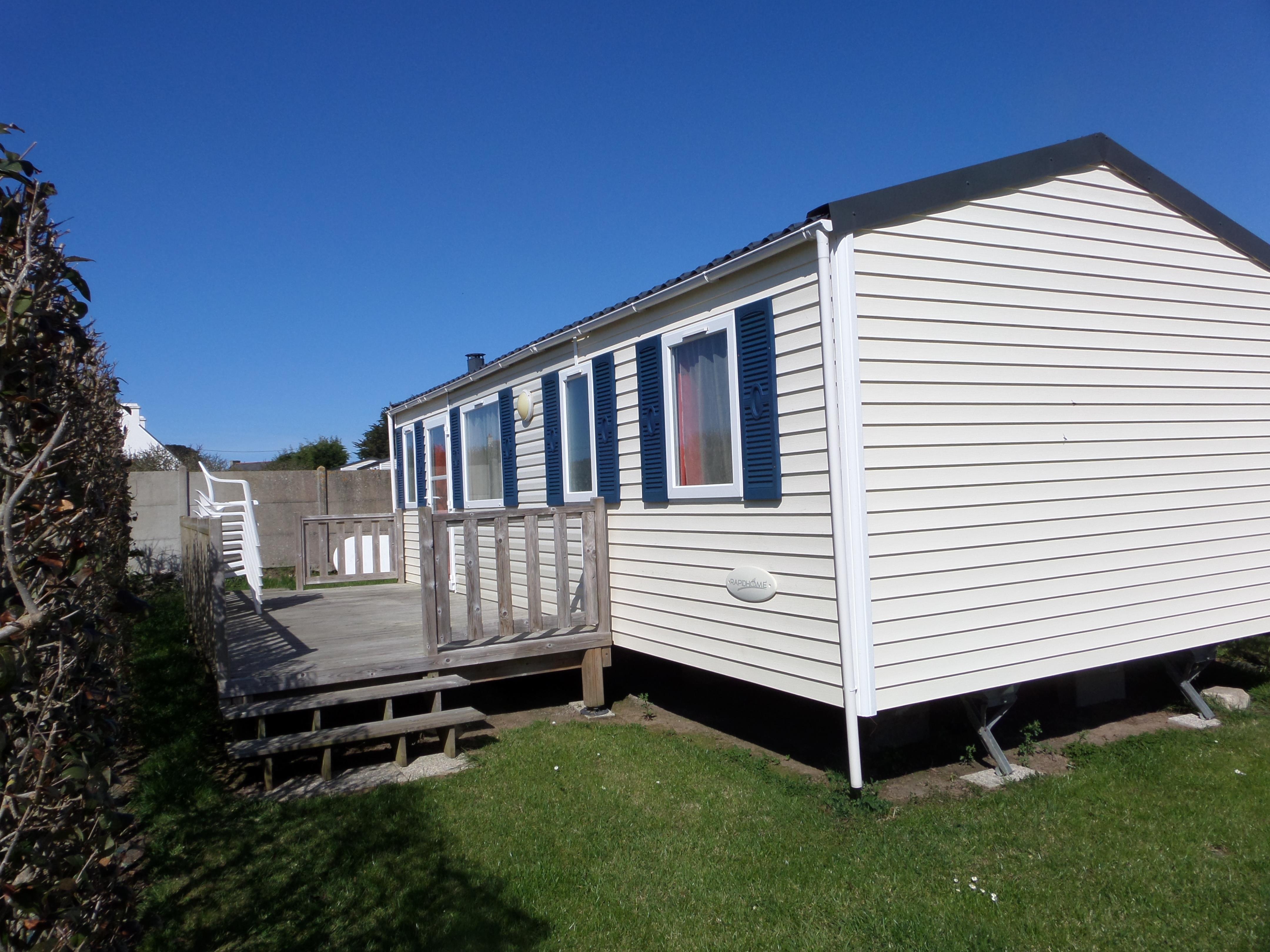 Mobil-home RAPIDHOME 33.5 m² / 3 chambres - Terrasse semi-couverte