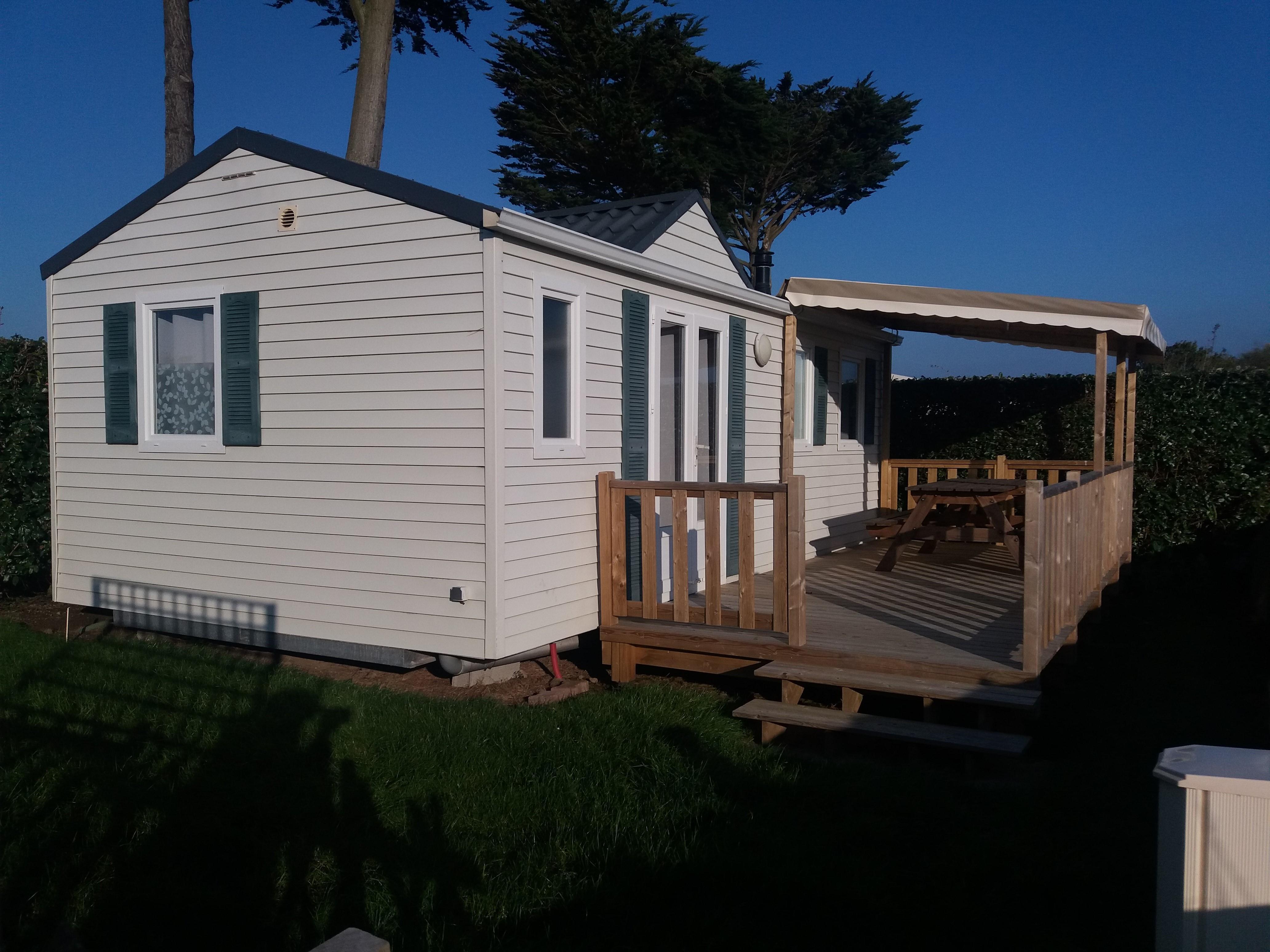 Mobil home OCEANE LOUISIANE 30m² / 2 Chambres - Terrasse semi-couverte