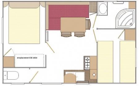 Casa Mobile Idaho 2 Camere