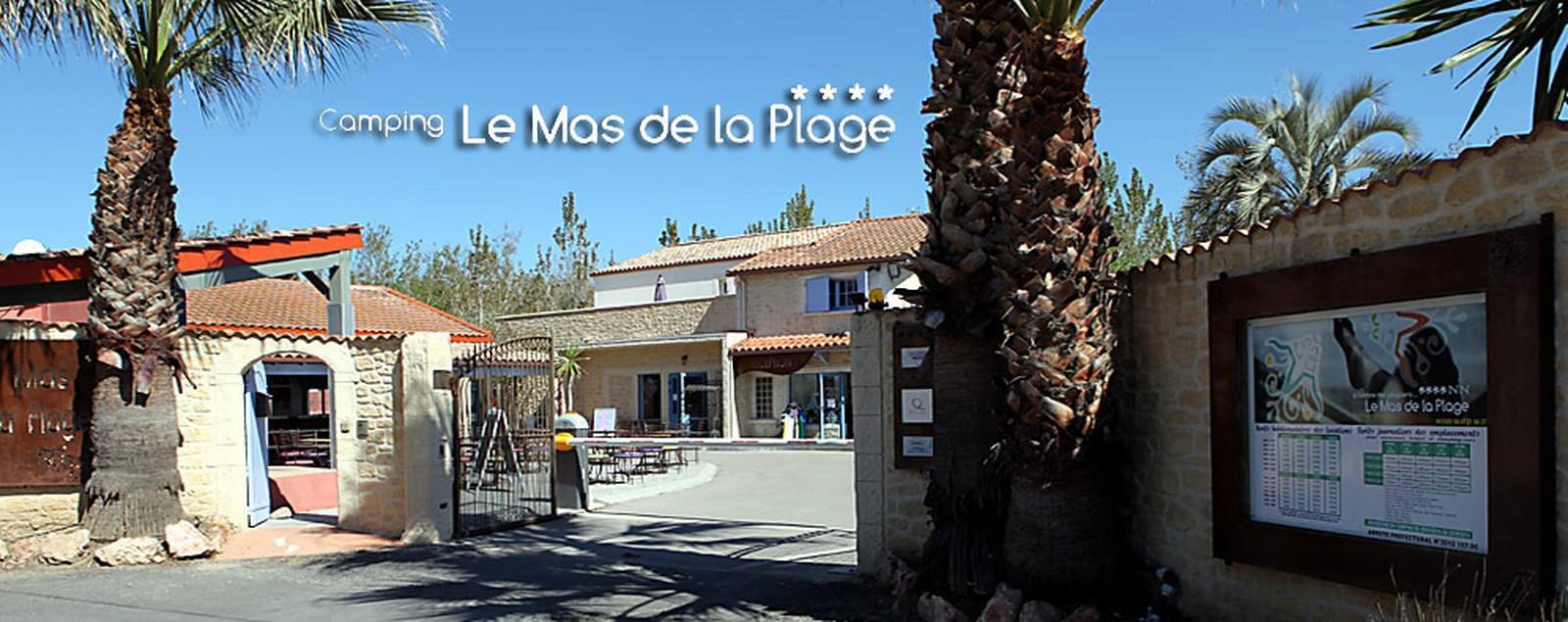 Camping le Mas de La Plage, Vias, Hérault